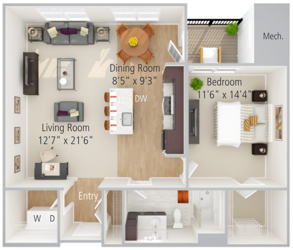 Goodwin Floor Plan Image