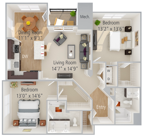 Laurel Floor Plan Image