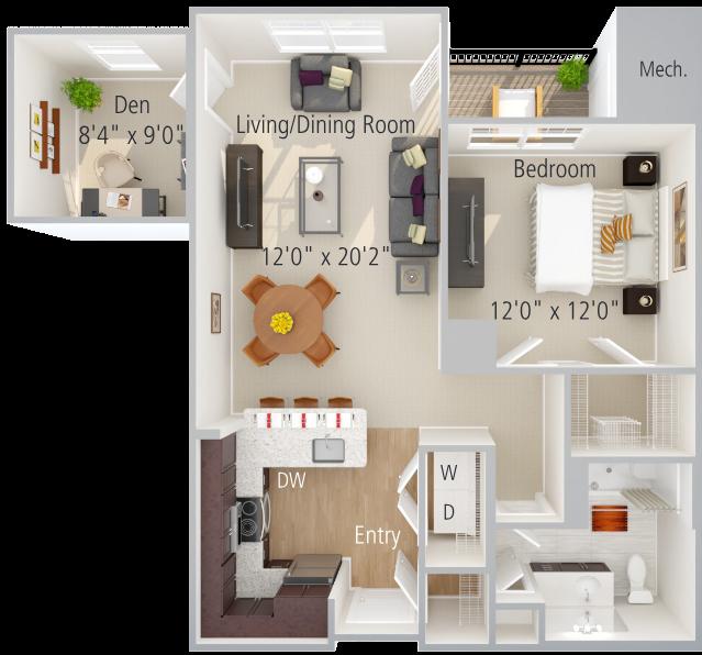 Olmstead Floor Plan Image