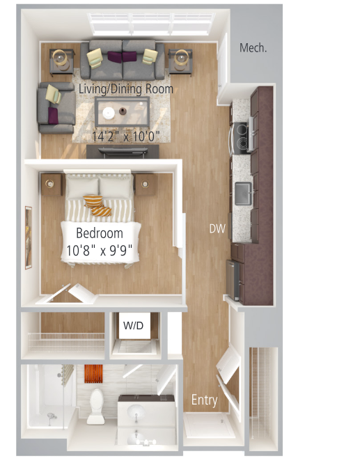 Oxford II Floor Plan Image