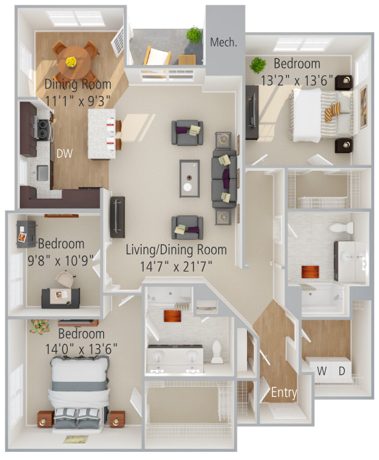Robin Floor Plan Image