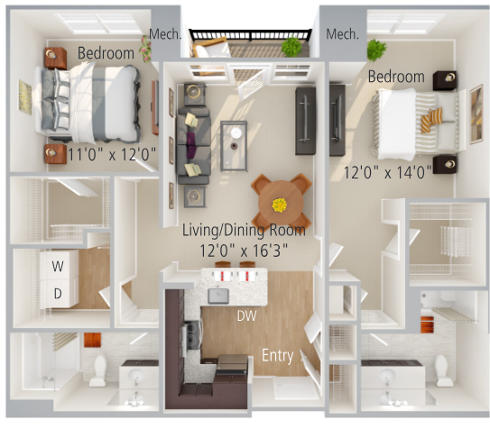 Terry Floor Plan Image