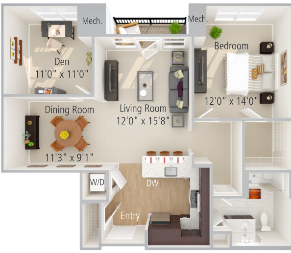 Windsor Floor Plan Image